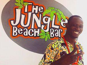 DJ ARNO : Bar-plage : The Jungle Beach Bar à Awale Plage